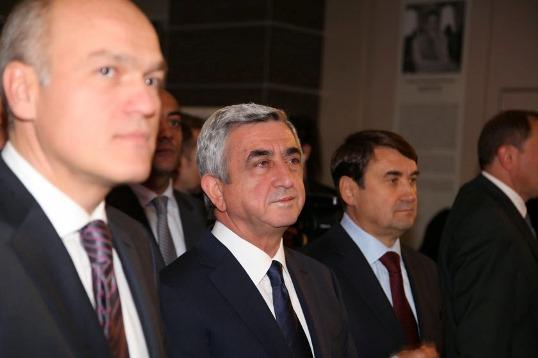 Andrey Filatov and Serzh Sargsyan