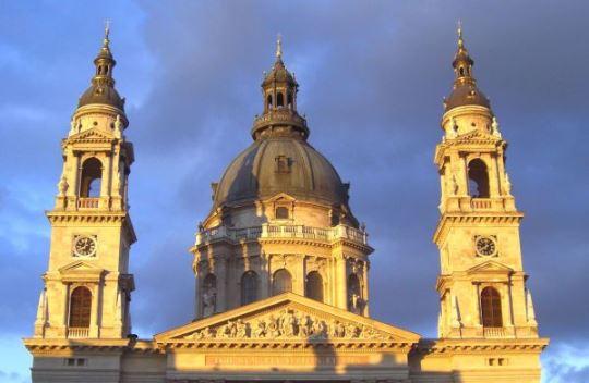 Basilica, towers