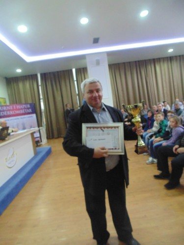 GM Kiril Georgiev (Bulgaria) shares first place