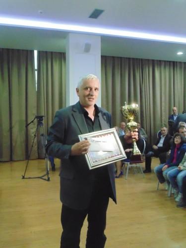 The winner GM Zdenko Kozul (Croatia)