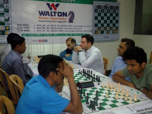 In 2nd round Sreejan Chess Club Vs. Dhaka Mohammedan Sporting Limited Round