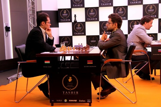 Peter Leko - Levon Aronian