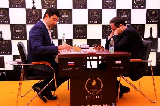 Vladimir Kramnik - Boris Gelfand