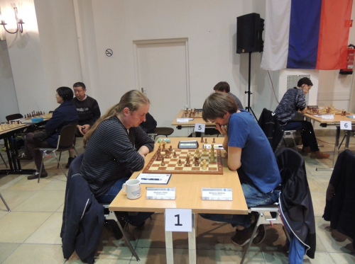 The game GM Nisipeanu vs. IM Bluebaum finished equal