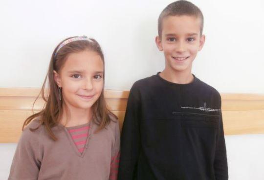 Siblings Kata and Gellert Karacsony (HUN)