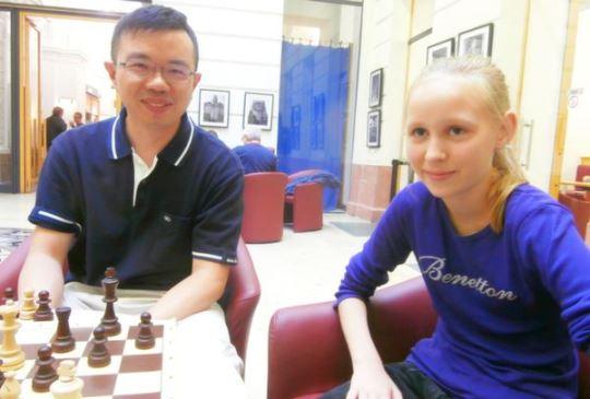 Daniel King-wai Lam (HKG) and Judit Kovacs (HUN)