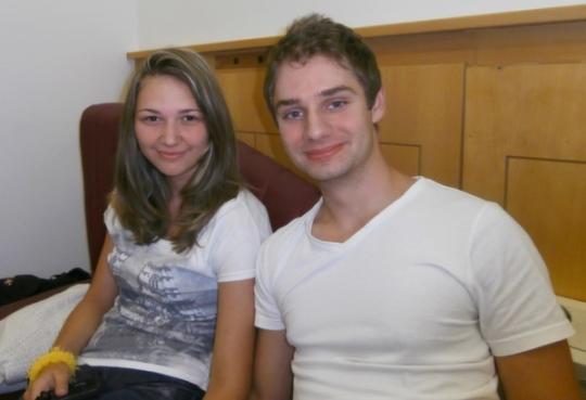 IM Oliver Mihok (HUN) and WFM Barbara Juhasz (HUN)