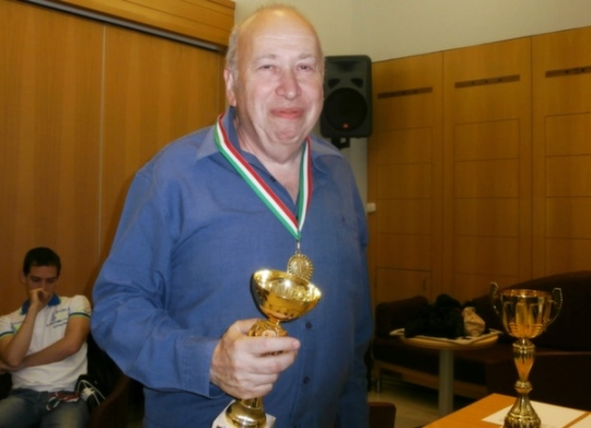 IM Janos Szabolcsi, the highest seed was also the winner of the Open tournament
