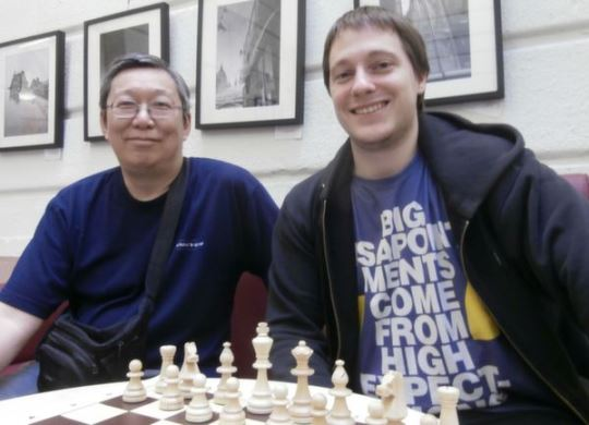 Michael Yip (CAN) and Laszlo Molnar (HUN)