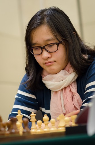 Zhao Xue in the lead with 5.5/6!