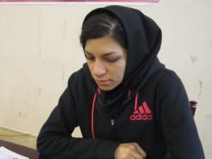 WGM Atousa Pourkashiyan (courtesy of Iranian Chess Federation)