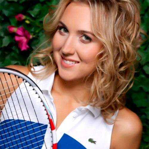 28-year-old Elena Vesnina is a two-time Grand Slam champion in doubles competition, having won the 2013 French Open and the 2014 US Open tournaments with Ekaterina Makarova.
