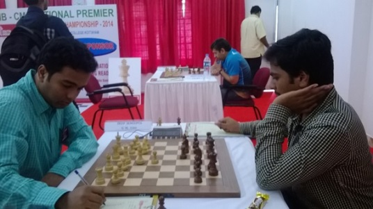 Better tiebreak helped Deep Sengupta to finish second. His final round opponent was IM Rajesh