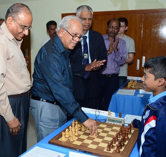 D V Sundar, Manuel Aaron, R Anantharam, R Praggnanandhaa