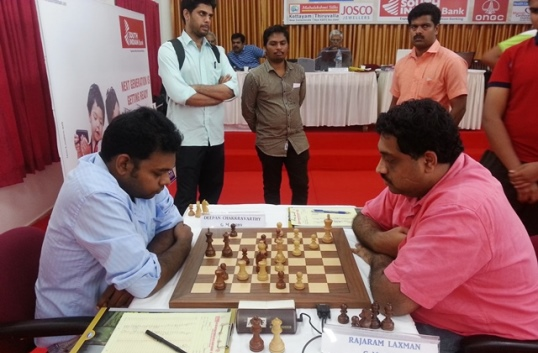 GM Deepan Chakkravarthy had a hat trick of losses