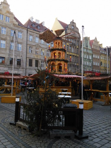 Christmas atmosphere all around in Wroclaw
