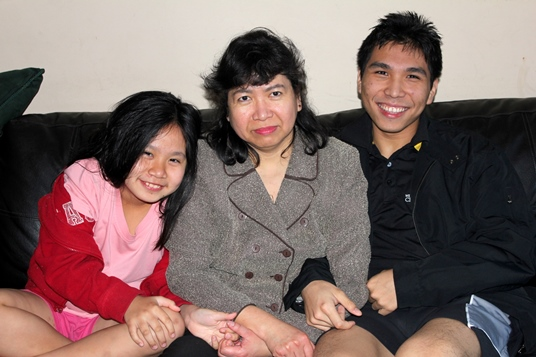 Leny So, Wesley So and his sister