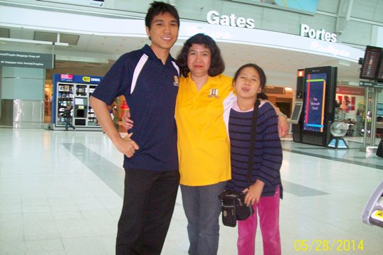Leny So, Wesley So and sister