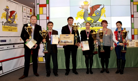 Lysyj and Gunina become 2014 Russian Champions