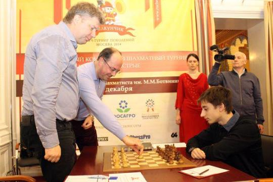 Shchelkunchik 2014 first move