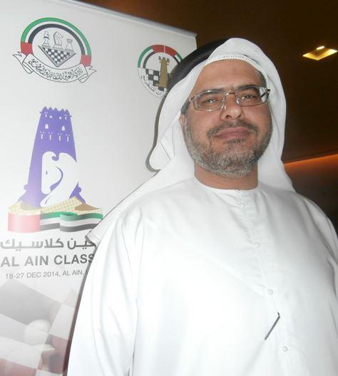 Tarek Al Taher, the Al Ain Classic's Tournament Director