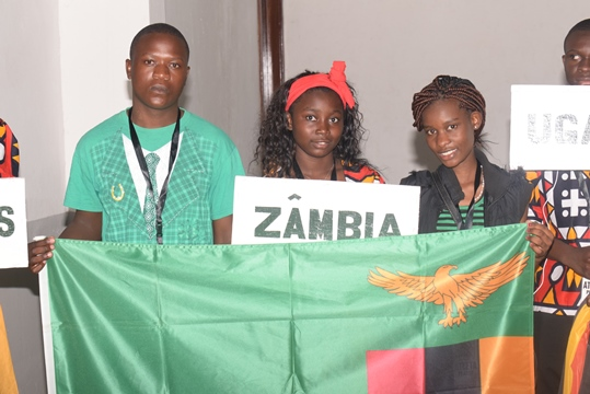Yombwe and Kaoma during the Opening Ceremony