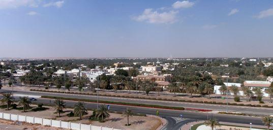 A panorama of Al Ain