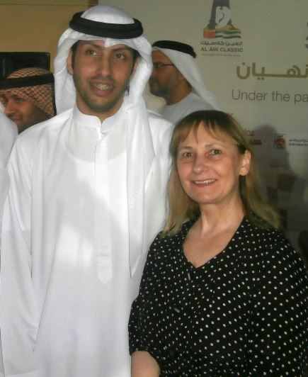 Sheikh Sultan's brother and Diana