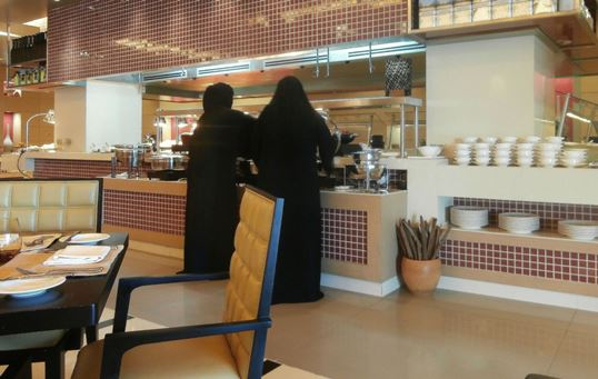 The restaurant at Rotana caters for all tastes