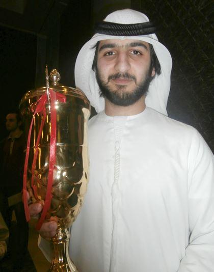 GM Salem A.R. Saleh from the UAE, winner of the Al Ain Rapid (6/7)