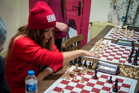 No gender barriers for chess!