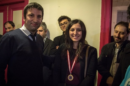 No surprises here: WGM Betul Cemre Yildiz won the best women prize.