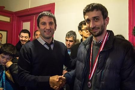 Third place went to FM Alper Efe Ataman, founder of a chess publishing house, Analiz Yayincilik