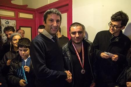 Karsiyaka's strongest player Mert won this memorable event!