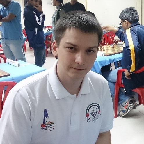 GM Baryshpolets Andrey (Ukraine)