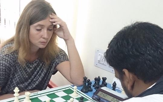 Iasman Inna (France) playing Ganesh Babu S (India)