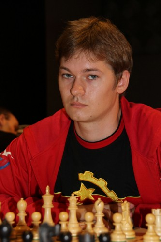 Russian GM Vassily Papin (photo credit: Cathy Rogers)