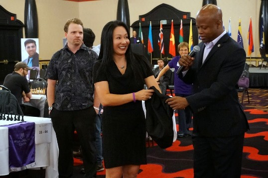 Amy Lee and Maurice Ashley