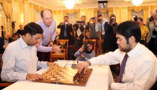 Anand - Nakamura Armageddon game