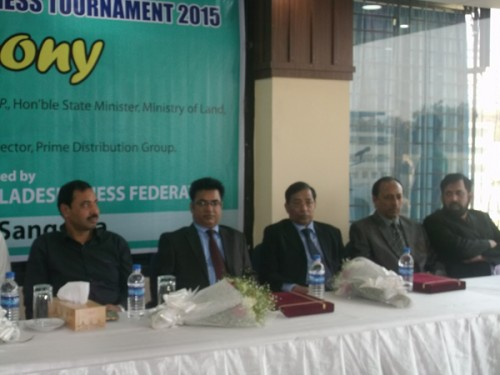 CJKS and Chess Federation officials