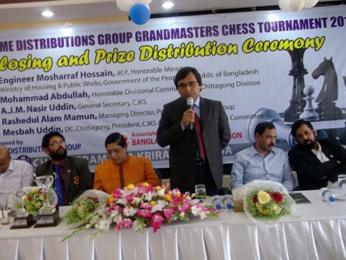 Chief Guest Divisional Commissioner Mr. Mohammad Abdullah
