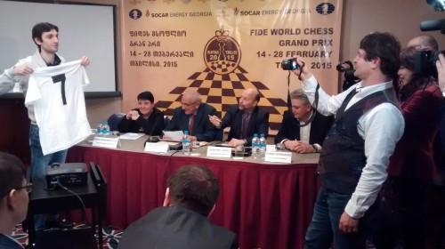 FIDE Tbilisi Grand Prix - Baadur Jobava
