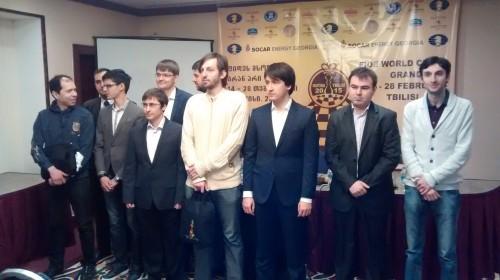 FIDE Tbilisi Grand Prix - Group photo