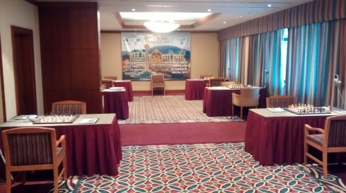 FIDE Tbilisi Grand Prix - Playing hall