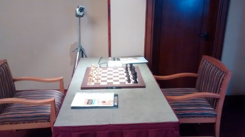 FIDE Tbilisi Grand Prix - Playing table