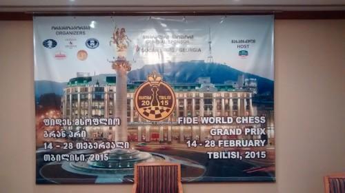 FIDE Tbilisi Grand Prix - poster