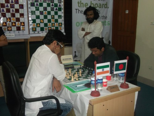 Round 1: IM Akshat Khamparia  Vs. IM Abu Sufian Shakil