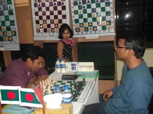 Round 2: IM Abu Sufian Shakil Vs. GM Abdulla Al-Rakib