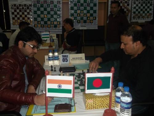 Round 2: IM Akshat Khamparia Vs. GM Murshed Niaz