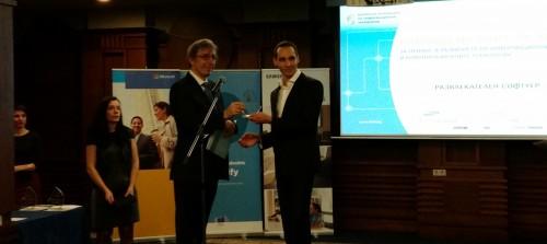 ChessArena CTO Ivan Anev at the awards ceremony